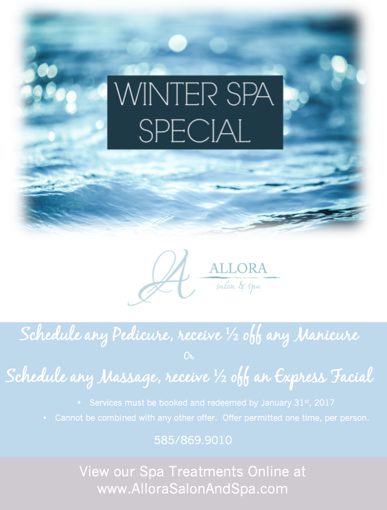 January Spa Promotion